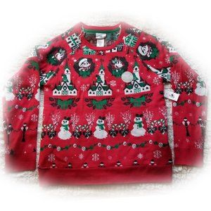 Disney Parks Mickey Minnie Mouse Light-up Sweater